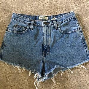 Vintage Redone Shorts High-Waisted Denim